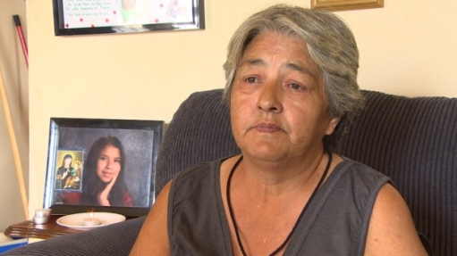 Thelma Favel, the great-aunt of Tina Fontaine, has mixed feelings about MMIW National Inquiry as pre-inquiry meeting is held in Winnipeg. (CBC)