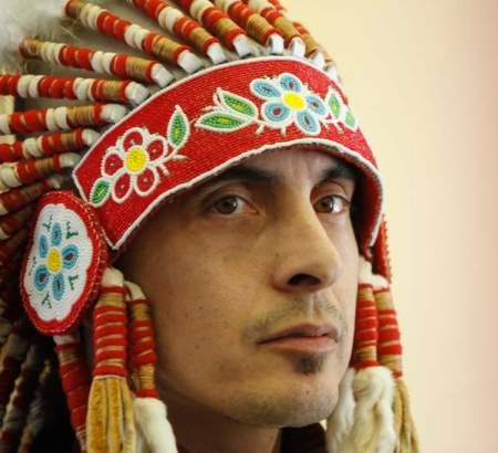 Chief Arlen Dumas of Mathias Colomb Cree Nation says he was harassed by a security officer at Winnipeg airport who accused him of carrying marijuana in a sacred pouch.