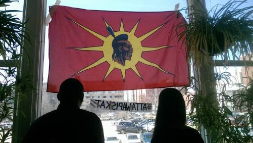 Photo: Occupy INAC Winnipeg, Facebook