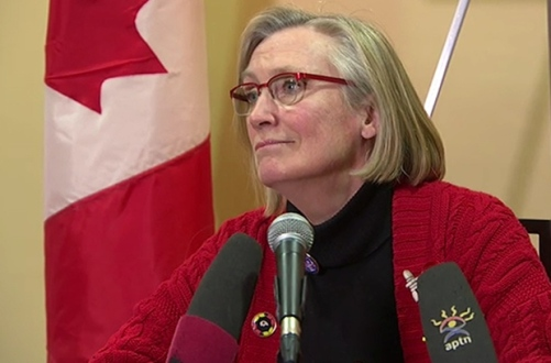 Protesters who occupied the INAC office in Vancouver for six days say they've secured a meeting with Indigenous Affairs Minister Carolyn Bennett. (CBC)