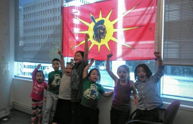 INAC occupation vancouver kids