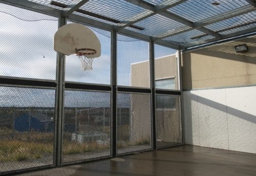 A basketball court at the North Slave Correctional Centre. (Pat Kane)