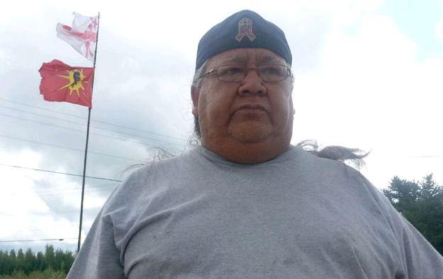 Warrior chief John Levi