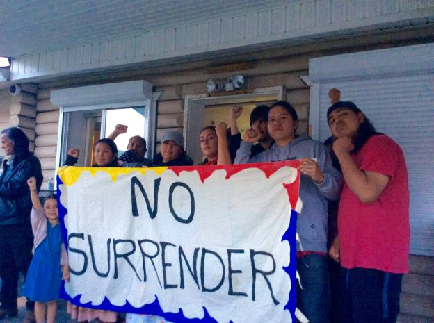 Photo: Williams Lake Indian Band Occupation/Facebook