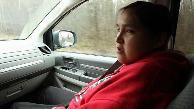 Bianca Moushoun was among the first Aboriginal women in Val d'Or, Que. to come forward, filing a formal complaint against Quebec police officers who she said gave her beer and traded sex acts for money and cocaine. (Radio-Canada)