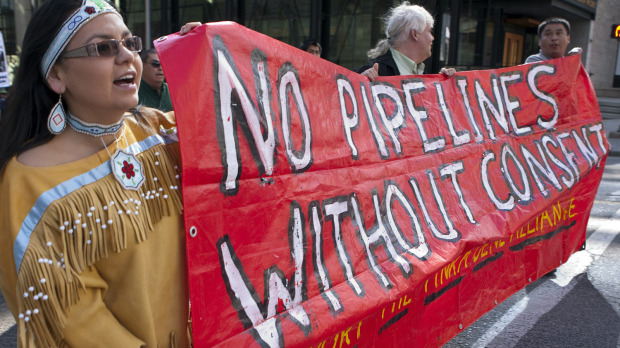 Yinka Dene Alliance launch 'Freedom Train' Against Enbridge Pipelines & Tankers