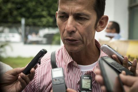 Daniel Abril Fuentes, a human-rights and environmental activist in Colombia's department of Casanare, was killed last November. Photo courtesy of Movimiento Nacional de Víctimas de Crímenes de Estado.