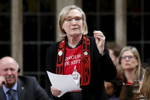 Indigenous Affairs Minister Carolyn Bennett