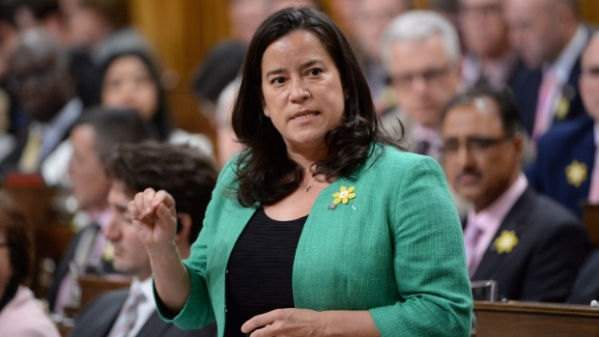 """In talks about the assisted dying law, Justice Minister Jody Wilson-Raybould says Canada must """"protect vulnerable persons who are disproportionately at risk of inducement of suicide."""" (Adrian Wyld/The Canadian Press)"""