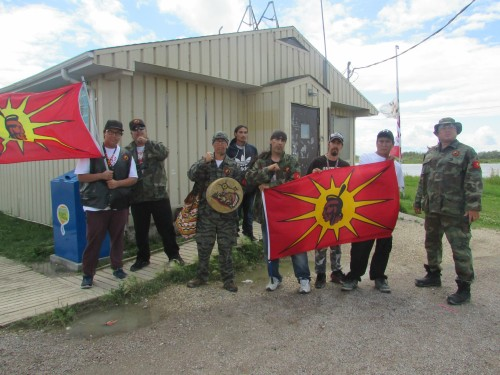 The urban warrior alliance and youth from Bloodvein First Nation