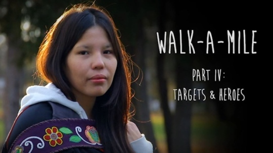 The Walk a Mile film about missing and murdered Indigenous women was used as part of a training session with Thunder Bay police in July. (Thunderstone Pictures)