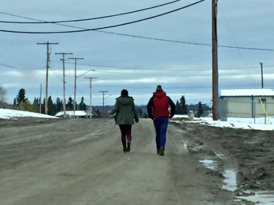 The community of Stanley Mission is mourning the loss of two girls who took their own lives. (Devin Heroux/CBC News)