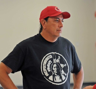 Standing Rock Sioux tribal chairman Dave Archambault II