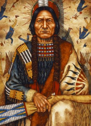 Sitting Bull by Kenneth Ferguson