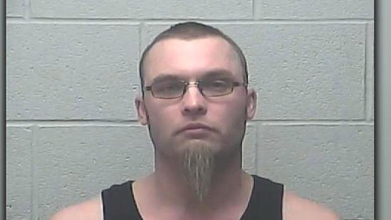 Jesse McLain, 33, of Bismarck, was arrested on two counts of terrorizing. PROVIDED