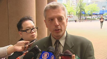 Detective James Fisher, seen here in 2011, was charged with sexual exploitation and sex assault in addition to other charges. (CBC)
