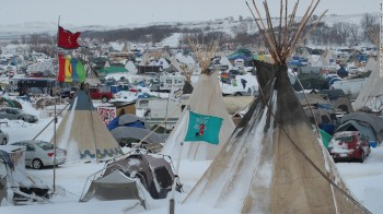 U.S. Army Corps Moves To Close Dakota Access Pipeline Protest Camp Feb. 22