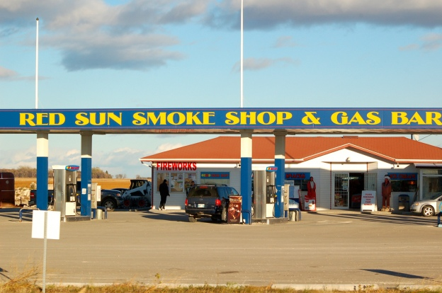 ... Red Sun Smoke Shop & Gas Bar | by Jeannette Greaves