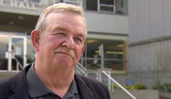 Burnaby mayor Derek Corrigan says there's still a long fight ahead of the Kinder Morgan expansion project. (Simon Charland/CBC)