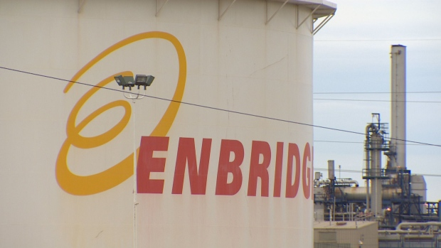 Enbridge has shut down five nearby pipelines as a precaution, the National Energy Board says. (Martin Weaver/CBC)