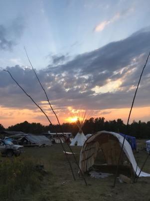 Camp Makwa - Line 3 Front Line Camp/Facebook