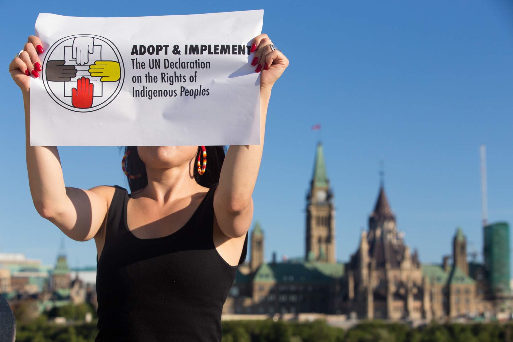Winnipegers Rally for Indigenous Rights