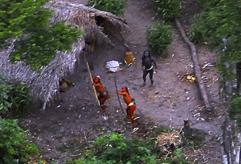Uncontacted Amazon Tribe Members Allegedly Killed By Gold Miners In Brazil