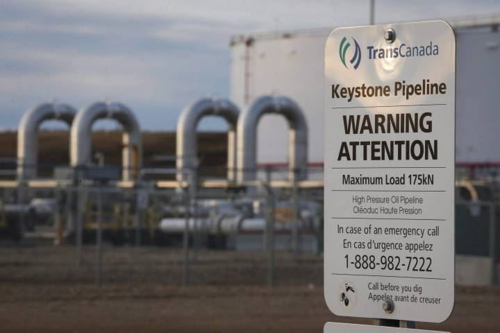 Keystone Pipeline Shut Down after Leak Spills 210K Gallons of Oil In South Dakota