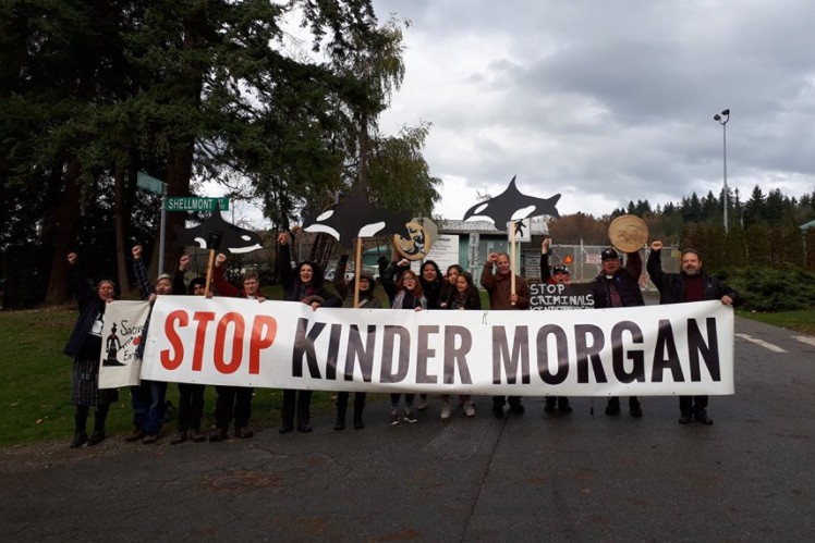 Judge grants Trans Mountain injunction preventing blockades at terminals in Burnaby