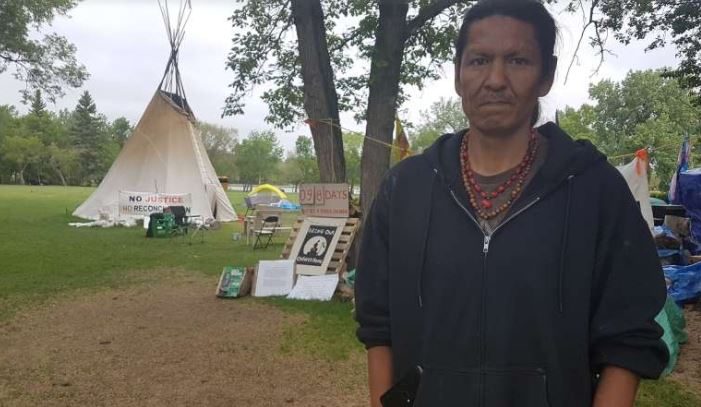 Sask. government says Indigenous camp near legislature will 'disrupt' Canada Day events