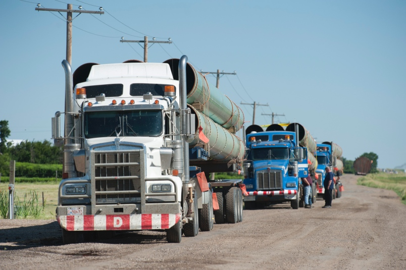 TransCanada to move materials, prep sites for Keystone XL