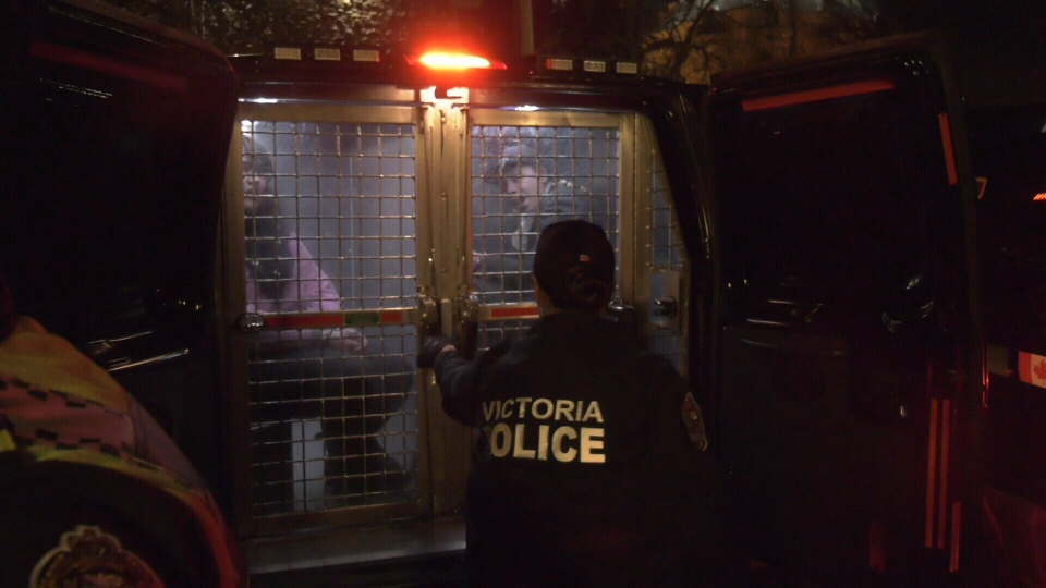 Indigenous youth arrested for refusing to leave B.C. legislature